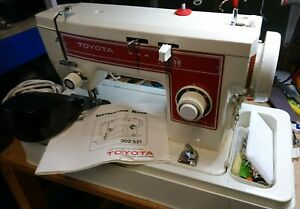 Toyota 302 electric sewing machine