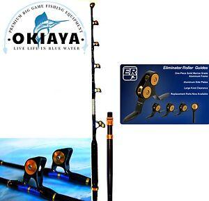 OKIAYA STRAIGHT BUTT 80-130LB VENOM PRO Trolling Rod For PENN OR TIAGRA
