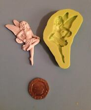 Fairy silicone mould - right facing - cake decorating, fimo, craft, magical