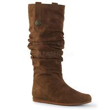 Brown Highlander Braveheart Renaissance Fair Costume Boots Mens size 8 9 10 11