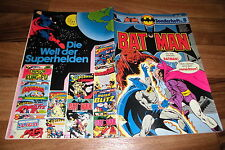 Batman Quaderno # 8 -- Ehapa 1. EDIZIONE 1977