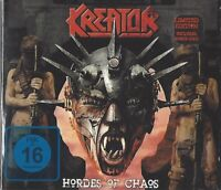 KREATOR / HORDES OF CHAOS - LIMITED EDITION - US IMPORT * NEW CD+DVD 2009 * NEU