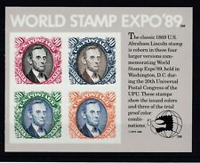 USA Bloc Sheet N° 20 New MNH