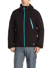 O'Neill Men's Jeremy Jones Rider Jacket, Black, Size L