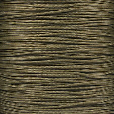 """Type 1 Paracord 95 LB Tensile Strength 1/14"""" Dia. 1 Strand 2 Ply Para Cord Rope"""