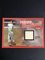 2004 Fleer Greats St. Louis Cardinals Stan Musial Authentic Game Worn Jersey
