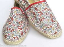 Pare Gabia French Woman Espadrilles Sandals~Floral Liberty~Handmade-New& Box~7.5