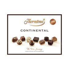 Thorntons Chocolate Continental Set, Assorted White, Milk & Dark Chocolates, ...