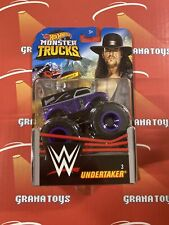 Undertaker #3 2020 Hot Wheels WWE Monster Trucks Case D
