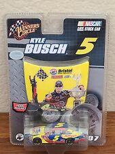 2007 #5 Kyle Busch Carquest Bristol 1st COT Win 1/64 Winner's Circle NASCAR