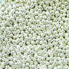 Pack von 50 Perlen-Tropfen Holz Elfenbein