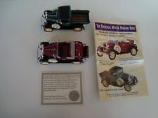 National Motor  Mint Diecast Vehicles 1931 Model A Roadster & 1931 Ford Truck