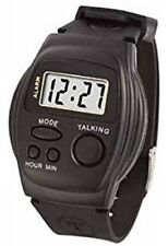 Women, Men, English Voice Speaking Digital Talking Watch for visually impaired