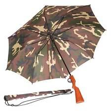 Camouflage Rifle Umbrella with Trigger Opener - Camo Umbrella - Hunters Umbrella