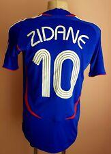 France 2006 - 2007 Home football Adidas shirt #10 Zidane