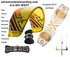 2017 complete package: Cabrinha FX 8m, Spectrum board, Fireball bar & pad - NEW