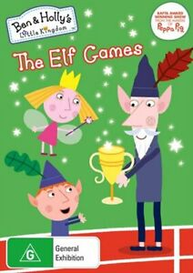Ben And Hollys Little Kingdom - The Elf Games DVD