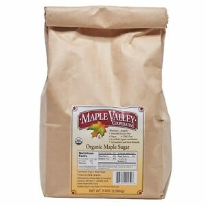 Maple Valley 5 lb. USDA Certified Organic Maple Sugar