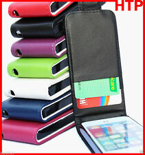 Premium Flip Wallet Leather ID Card Pouch Case Cover Apple iPhone 4 4G 4S