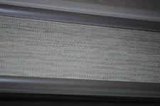 VERTICAL WINDOW BLINDS VINYL OFF WHITE GRAY TEXTURED