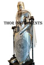 Medieval Knight Suit of Armor Combat Full Body Armor Suit With Shield