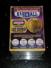 TRISTAR Hidden Treasures Autographed Baseball - Purple Box - BRAND NEW & SEALED