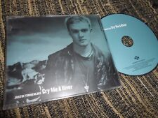 JUSTIN TIMBERLAKE CRY BE A RIVER CD SINGLE 2002 PROMO