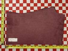 "Authentic Horween Light Plum #31 4 Oz. Leather Hide Cut 16.5""x11"" Nat. Quality"