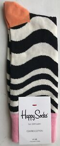 Happy Socks Men's Wavy Socks - UK7.5-11.5 / US8-12 / EU41-46 - WVY01-2000