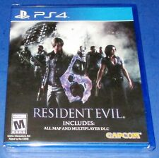 Resident Evil 6 Sony PlayStation 4 *Factory Sealed! *Free Shipping!
