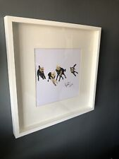 More details for welsh terrier framed print - limited edition