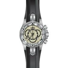 Invicta Excursion 24270 Men's Round Cream Chronograph Date Analog Silicone Watch