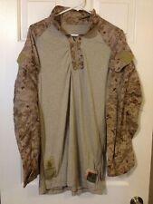 """USMC FROG SHIRT DESERT DIGITAL MARPAT DEFENDER """"M"""" LARGE -LONG"""