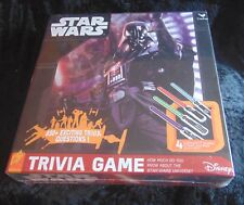 Star Wars Trivia Game with 4 Lightsaber puzzles New Sealed