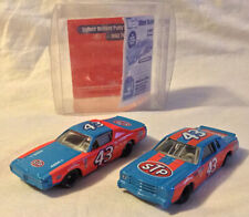 REVELL x2 WISK 72 DODGE & 79 MONTE CARLO RACE CARS 1/64 MINT BOXED RARE