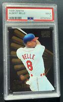 1996 Pinnacle Zenith Baseball #95 Albert Belle PSA 9 Mint Cleveland Indians POP1
