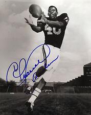 Charlie Sanders Univ. of Minnesota Great signed 8x10 Photo #2 (RARE) W/COA