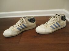 Used Worn Size 11.5 Adidas Matchcourt Mid Snoop X Gonz Shoes Chalk Blue Gold