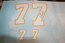 Christian Ponder AUTO Autograph Signed Minnesota Vikings Numbers for a Jersey
