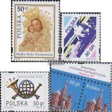 Polen 3670,3675,3676,3677 (compleet Kwestie) gestempeld 1997 Marienheiligtümer,