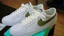 Nike SB Air Zoom Blazer Low Canvas White & Green Shoes 9 NIB