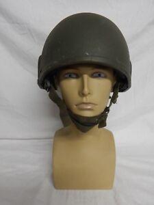 Ex British Army MK6 Combat Helmet, Olive, Small, Medium or Large [GR]