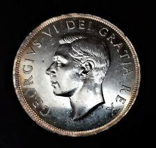 Canada/ 1 Dollar 1949/ KM-47/ Excellent Condition/ SILVER COIN