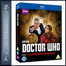 DOCTOR WHO - COMPLETE SERIES 8  **BRAND NEW BLU-RAY REGION FREE***