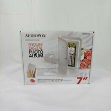 "Audiovox Celebration Portable Digital Photo Picture Album Wedding 7"" Screen"