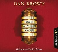 DAN BROWN - DER DA VINCI CODE  6 CD NEW