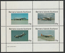 GB Locals - Bernera 2850 - AIRCRAFT perf sheetlet unmounted mint