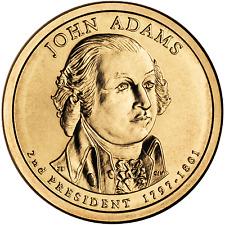 John Adams 2007 US P or D Unc Presidential Dollar Coin