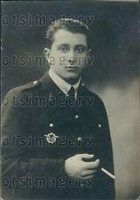 1918 James de Rothschild Son of France Baron Henri Press Photo