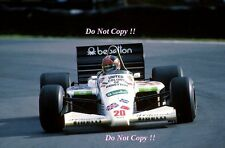 Piercarlo Ghinzani Toleman TG185 European Grand Prix 1985 Photograph